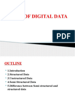 1 - Chap 3 - Types of Digital Data