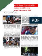 Retrospective GP de Cours La Ville 2009