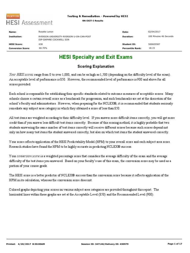final hesi exam | Test (Assessment) | Nursing