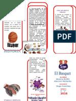 TRIPTICO basquet