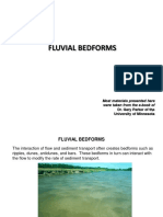Fluvial Bedforms