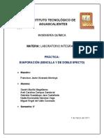 Práctica-evaporadores Equipo 4