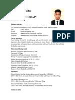 Cv- Imran Hossain (17!4!17)