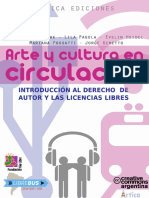 Arte y Cultura en Circulación Julio 2013