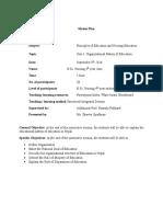 4. Organizational Pattern