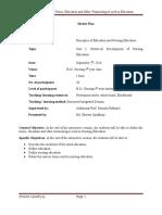Terminologies Used in Nursing Education 1