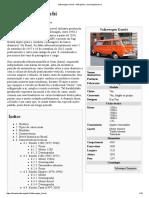 Volkswagen Kombi – Wikipédia, A Enciclopédia Livre