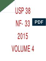 USP 38 - NF 33 - VOLUMEN 4 (Páginas 6289 - 7455).pdf