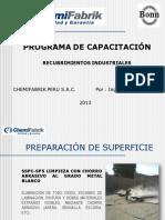 Chemifabrik - Preparación de Superficie