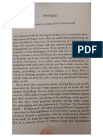 Preface,Experiences in Theology Jurgen Moltmann