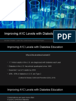 nurs 5001- improving a1c levels with diabetes education group power point  official - without narration