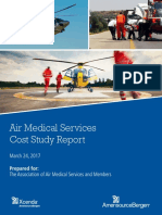 Air Medical Services Cost Study Report