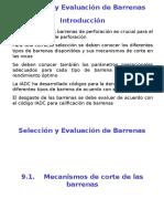 Seleccic3b3n y Evaluacic3b3n de Barrenas
