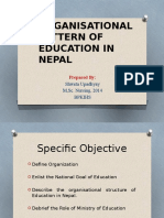 4. Organisational Pattern of Education in Nepal - Copy
