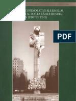 Monumente Comemorative Ale Eroilor Din Primul Si Al Doilea Razboi Mondial Timis