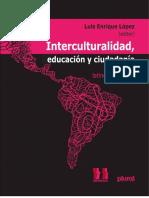 Interculturalidad, Educación y Ciudadanía_Enrique López