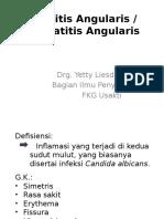 Cheilitis Angularis
