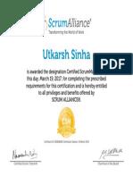 Utkarsh Sinha-ScrumAlliance_CSM_Certificate.pdf