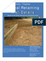 2012Retaining Wall Details