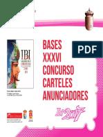 Bases Concurso Carteles Anunciadores 2017