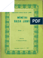 Memetri Basa Jawi
