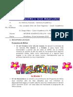 Informe Mensual - Noviembre Academica