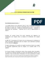 Nep 315 Questionnaire Pme Analyse Controle Interne Rappels