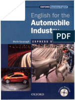 English for Automobile Industry