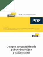 Compra Programática de Publicidad Online y AdExchange
