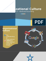 Group 10 - Organizational Culture