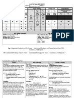 prepost case summary sheet ep