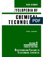 Encyclopedia of Chemical Technology [Vol 08]