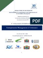 Programme 3 Colloque Entreprenariat