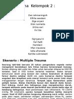 Ppt Modul Multiple Trauma Kelompok 2