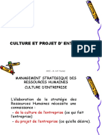 03 Culture Et Projet d'Entreprise
