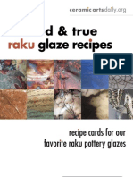 10 Raku Glaze Recipes
