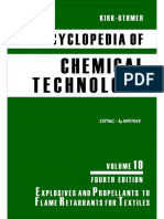 Encyclopedia of Chemical Technology [Vol 10]
