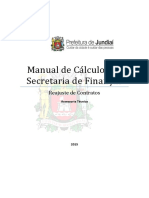 Manual de Cálculos Da SMF