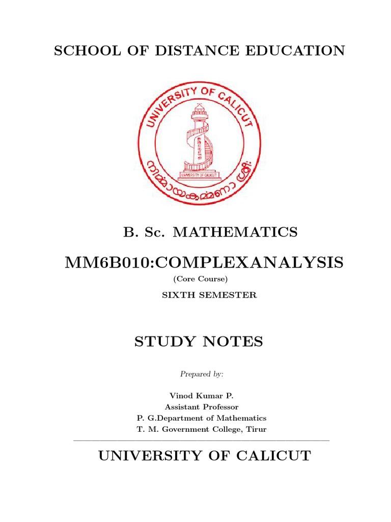 Bsc mathematics complex analysis complex number logarithm buycottarizona Images