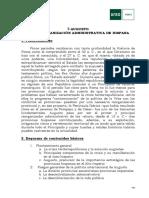 7-Augusto y La Reorganización Administrativa de Hispania