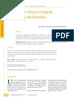 Historia Clinica Medico Familia