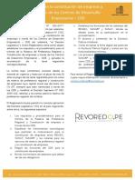 Facilitan la constitución de empreas a través de los Centros de Desarrollo Empresarial – CDE
