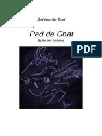Sabino de Bari Pas de Chat  Classical guitar