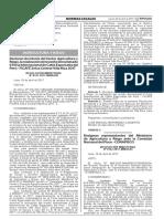 Designan representantes del Ministerio de Agricultura y Riego ante la Comisión Nacional del Pisco - CONAPISCO