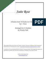 Suite Rose Score