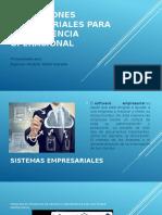 Aplicaciones Empresariales Para La Excelencia Operacional