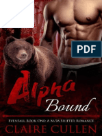 Alpha Bound Evenfall Book One - Claire Cullen