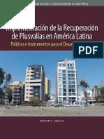 Plusvalias en América Latina 4-13 y 51-64 Mecanismo Para Apliicar Planes