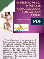Derechos de Los Niños en Familia (Presentación)
