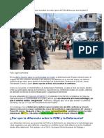 Reporte Mensual de Conflictos Sociales N 157 Marzo 2017